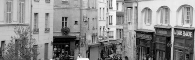 La rue de la montagne Sainte Geneviève